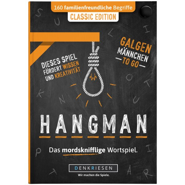 HANGMAN - CLASSIC EDITION - Galgenmännchen TO GO