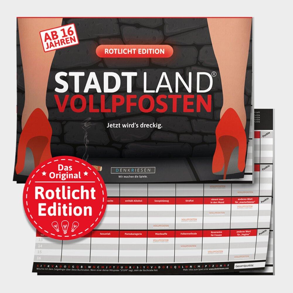 Denkriesen Stadt Land Vollpfosten Rotlicht Edition Ab 16 Jahre 12 90